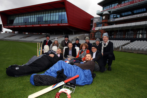 LCCC Foundation CEO's from a range of companies to sleep rough at EOT in May to raise money for the homeless. 15 01 16